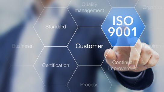 Laadunhallintajärjestelmä ISO 9001 on suosittu eri yrityksillä ja organisaatioilla.