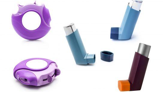 Inhalaattorit ovat POM muovia.